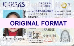 KANSAS FAKE DRIVERS LICENSE WITH SCANNABLE FAKE LICENSE KANSAS, BUY KANSAS FAKE DRIVING LICENSE