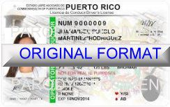 fake id puerto rico scannable with holograms