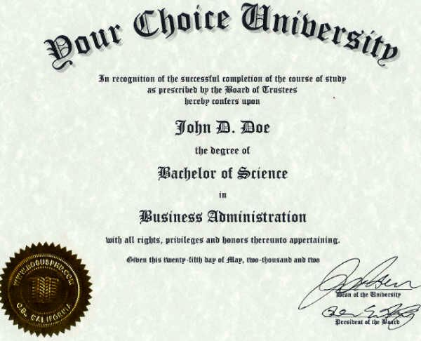 International Certificates Diplomas Degrees Birth